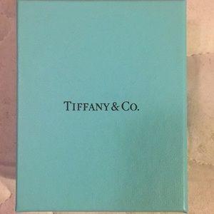 Empty Tiffany & Co. Box